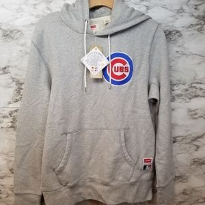 Levis Chicago Cubs Mens Hoodie Sz S New MLB